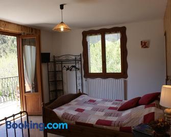 Gite Tranquyl - Barcelonnette - Bedroom