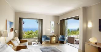 Daios Cove Luxury Resort & Villas - Айос Николаос - Спальня