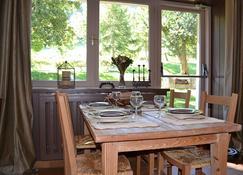 هوتل ريستورانت إل أدراي - La Plagne-Tarentaise - غرفة طعام