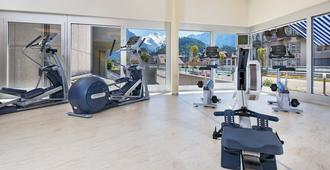 Metropole Swiss Quality Interlaken Hotel - Interlaken - Gym