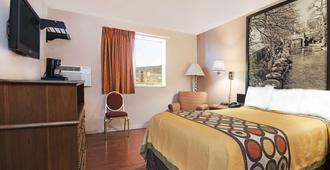 Super 8 by Wyndham San Antonio/I-35 North - San Antonio - Bedroom