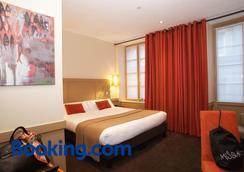 拉邁松德斯阿瑪托斯酒店 - 聖馬洛 - 聖馬洛 - 臥室