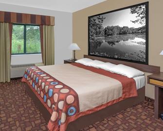 Super 8 by Wyndham Three Rivers - Three Rivers - Bedroom