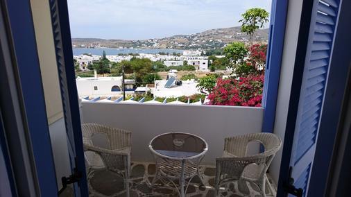 Panorama Hotel - Parikia - Balcony