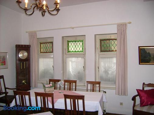 Pension Haus Weller - Boppard - Dining room