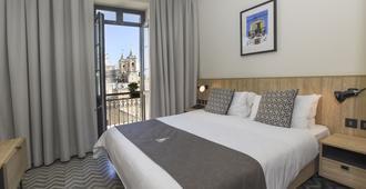 La Falconeria Hotel - Valletta - Bedroom