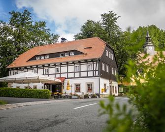 Gasthof Alte Schmiede Lückendorf - Oybin - Gebouw