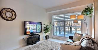 La Vie Est Belle, 2 Beds, Free Underground Parking, Gym, Citq# 298453 - Québec City - Living room