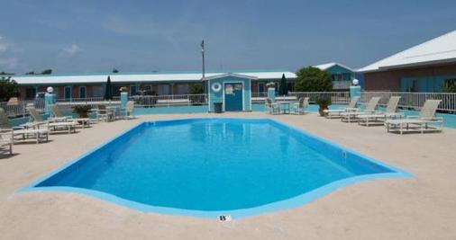 Shark Reef Resort Motel & Cottages - Port Aransas - Πισίνα