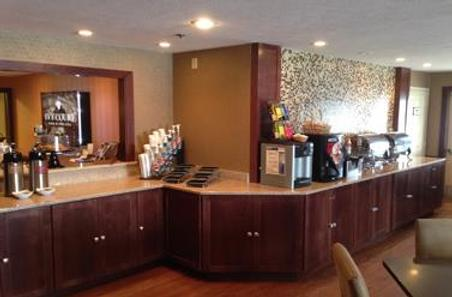 Ivy Court Inn & Suites - South Bend - Μπουφές