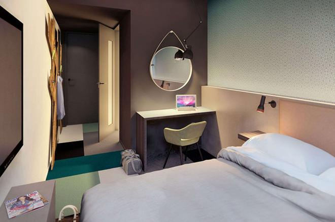 Comfort Hotel Xpress Central Station - Όσλο - Κρεβατοκάμαρα