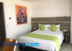Apparthotel La Girafe - La Penne-sur-Huveaune - Bedroom