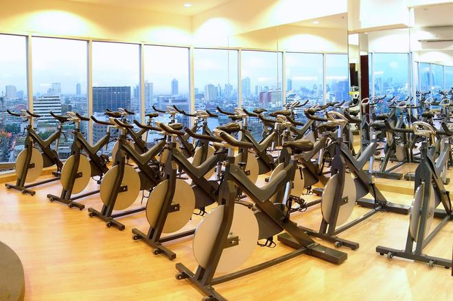 Prince Suites Residence Managed by Prince Palace - Bangkok - Salle de sport