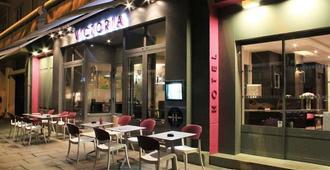 Hotel-Restaurant Le Victoria - Rennes - Gebouw