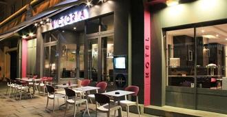 Hotel-Restaurant Le Victoria - רן - בניין