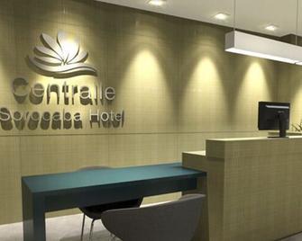 Centralle Sorocaba Hotel - Sorocaba - Lễ tân