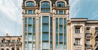 11 ميرورز ديزاين هوتل - كييف - مبنى