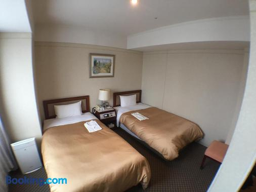 Hiroshima Intelligent Hotel Annex - Hiroshima - Bedroom
