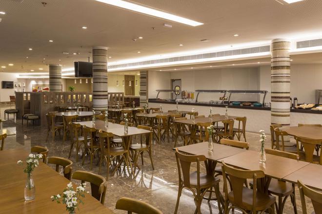 維托利亞舒眠飯店 - 維多利亞(巴西) - 餐廳