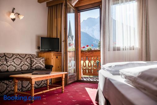 卡羅納酒店 - 馬雷貝 - San Vigilio di Marebbe - 客廳