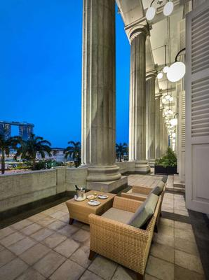 The Fullerton Hotel Singapore - Singapore - Parveke