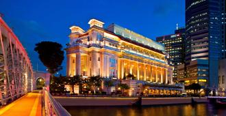 The Fullerton Hotel Singapore - Singapur - Bina