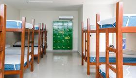 薩亞比青年旅舍 - 普拉亞卡門 - 臥室