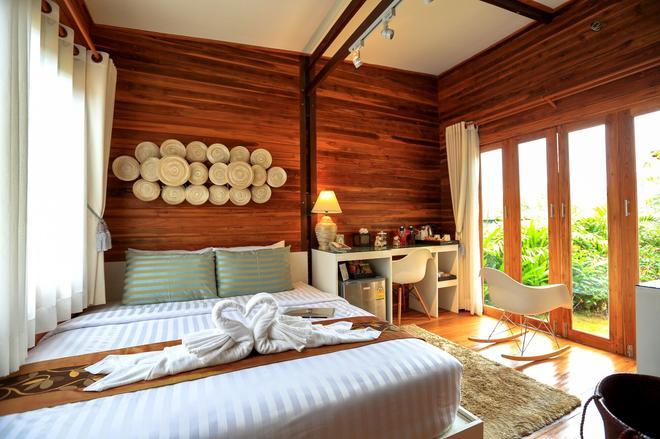 維安維曼豪華私人泳池別墅度假村 - 甲米 - 臥室