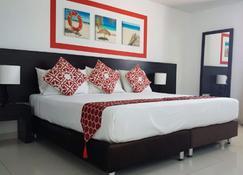 Hotel Portofino - San Andrés - Makuuhuone