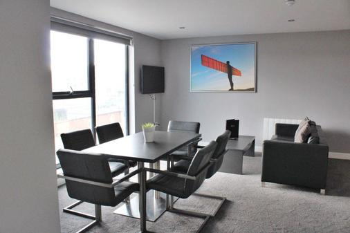 Dream Apartments Quayside - Newcastle upon Tyne - Ruokailuhuone