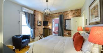 Auberge Aux deux Lions - Québec City - Bedroom