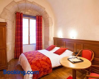 Hôtel Le Cheval Blanc - Лангр - Bedroom