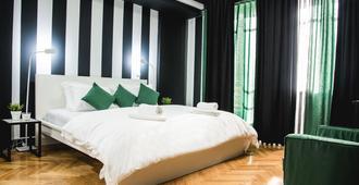 Home Plus Harmonia Junior Suite - אתונה - חדר שינה