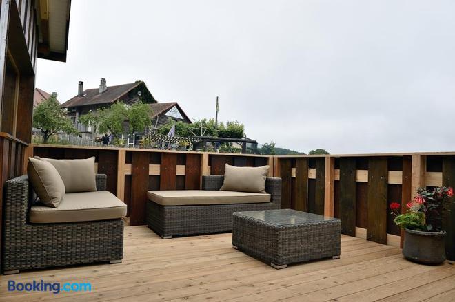 Cabane Dans Les Arbres / Swin-Golf de Cremin - Lucens - Balcony