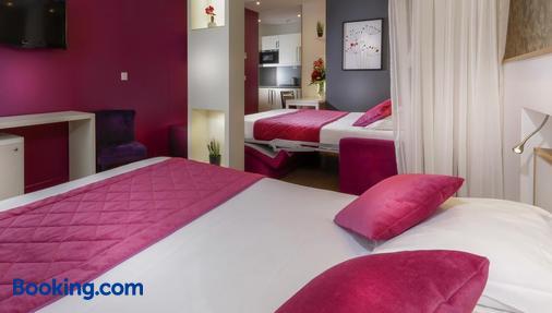 Hotel Ambre - Paris - Phòng ngủ