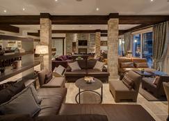 Schlosshotel Zermatt Active & Cbd Spa Hotel - Zermatt - Lounge