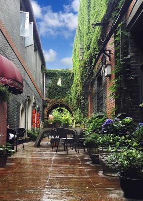 Tours Soho Garden Hotel (Shanghai City Centre Riverside) - Shanghai - Innenhof