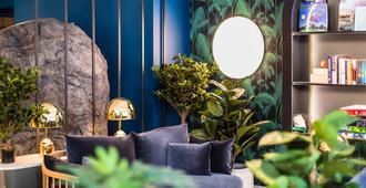 أبارت هوتل أداجيو إدنبرة رويال مايل - إدنبرغ - غرفة معيشة
