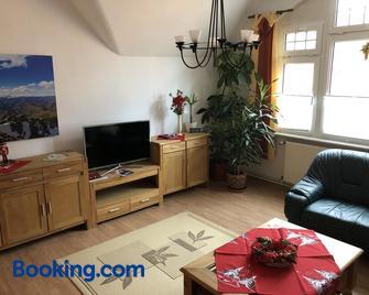 Schlossblick Apartment - Gotha - Huiskamer