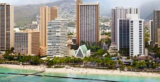 Hilton Waikiki Beach - Honolulu - Building