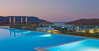 Royal Marmin Bay Boutique & Art Hotel - Elounda - Piscina