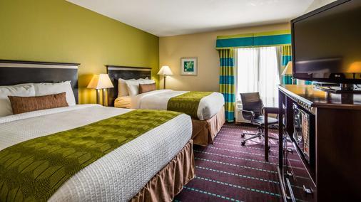 Best Western PLUS Sanford Airport/Lake Mary Hotel - Sanford - Bedroom