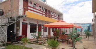 Hostal El Sueno de San Martin - Paracas - Patio