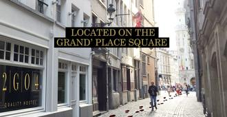 2go4 Quality Hostel Grand Place - Bruselas - Vista del exterior