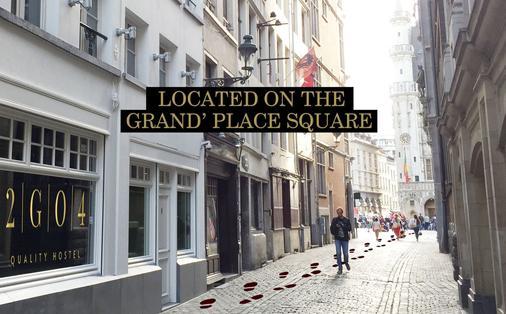 2G04品質旅舍,布魯塞爾大廣場 - 布魯塞爾 - 室外景