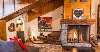 Les Monts Charvin - Courchevel - Living room