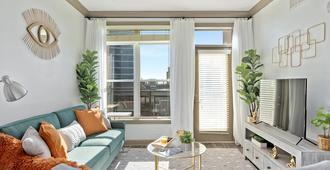 Luxury Skyview Apartment in Atlanta - Atlanta - Sala