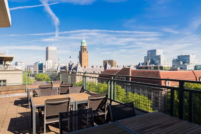 NH Atlanta Rotterdam - Rotterdam - Balcony