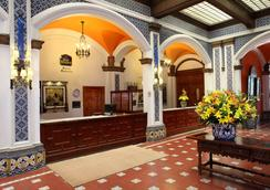 Best Western Hotel Majestic - Mexico City - Front desk