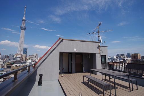 Oak Hostel Fuji - Hostel - Tokio - Parveke